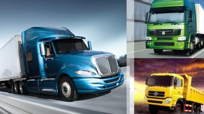 Hoàng Huy (HHS) chiếm 24% thị phần nhập khẩu xe tải từ Trung Quốc