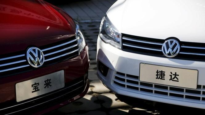 Hãng Volkswagen đang đối mặt với án phạt hàng chục tỉ USD - Ảnh: Reuters