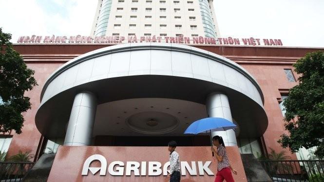 Trụ sở chính của Ngân hàng Nông nghiệp và phát triển nông thôn Việt Nam (Agribank) ở Hà Nội - Ảnh: Nguyễn Khánh
