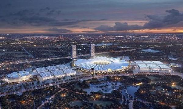 Công bố kiến trúc Dự án Trung tâm Hội chợ Triển lãm Quốc gia