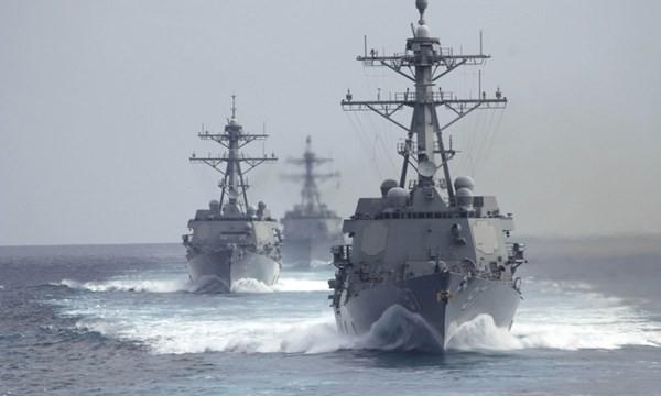 Hải quân Mỹ sẽ tuần tra sát đảo nhân tạo do Trung Quốc tạo trái phép