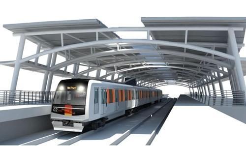 Đường hầm và các nhà ga ngầm metro số 2: Từ 404 triệu USD thành 1,168 tỉ USD