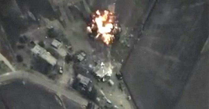 Ảnh do Bộ Quốc phòng Nga cung cấp về một cuộc không kích của Nga tại Syria, 30/09/2015 - REUTERS.