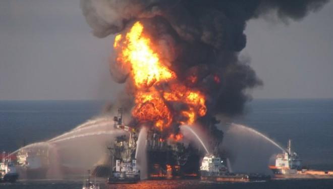 Thảm họa Deepwater Horizon năm 2010 được xem là thảm họa tràn dầu lớn nhất trong lịch sử nước Mỹ - Ảnh tư liệu - Reuters