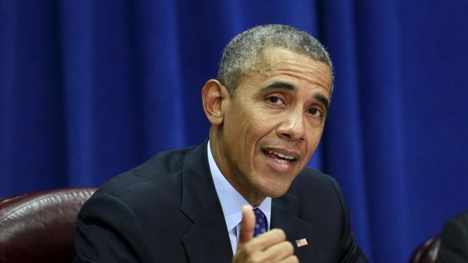 Ông Obama bắt đầu quảng bá cho TPP - Ảnh: Reuters