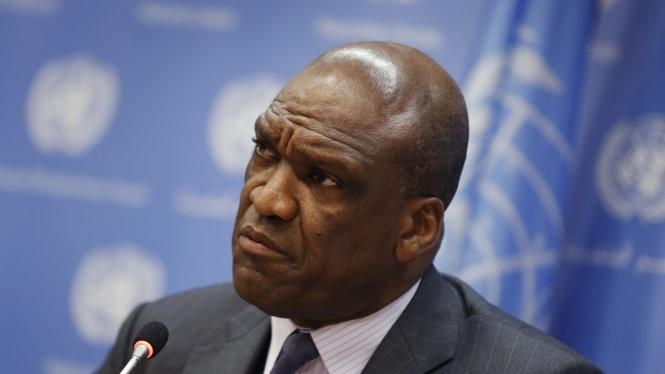 Cựu chủ tịch Đại hội đồng LHQ John Ashe - Ảnh: Reuters