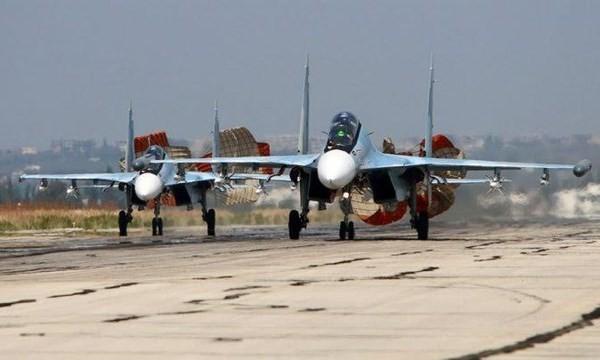 Các máy bay Nga hoạt động tại Syria (Ảnh: Ria)