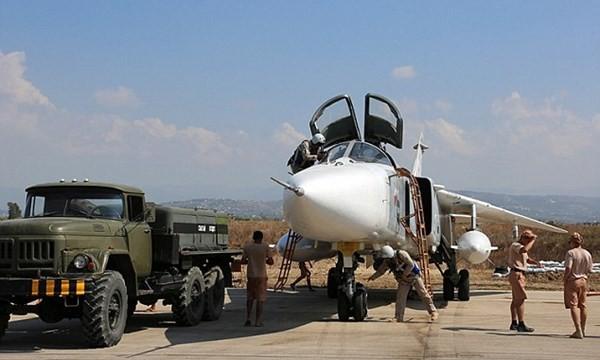 Chiến đấu cơ Nga ở Syria
