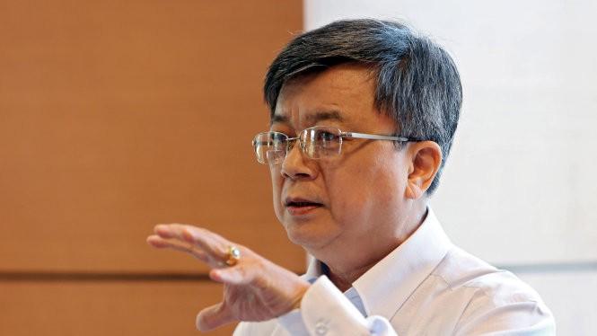 Đại biểu Trương Trọng Nghĩa - Ảnh: Việt Dũng