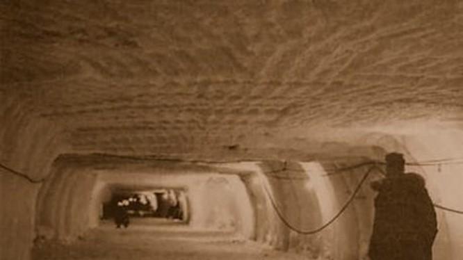 Căn cứ ngầm của Mỹ dưới lòng đất Greenland những năm 1960 - Ảnh: Quân đội Mỹ
