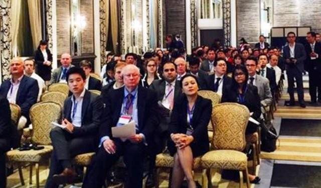 """Các nhà đầu tư Mỹ tại Hội nghị xúc tiến đầu tư """"Việt Nam của tôi - điểm đến đầu tư của bạn"""" tổ chức tại New York ngày 1-7-2015 - Ảnh: TL"""