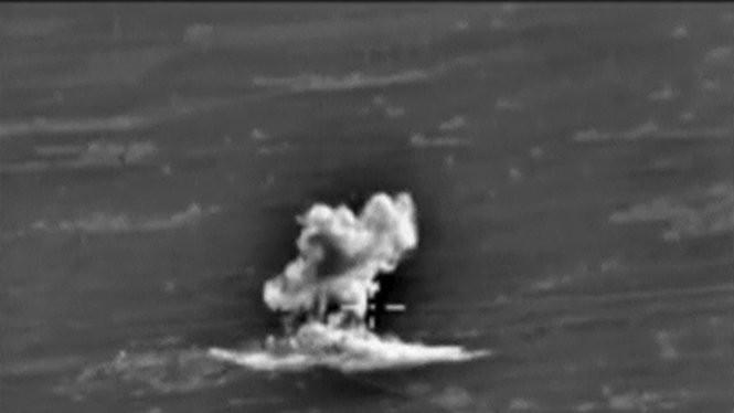 Khói bốc lên tại một địa điểm bị Nga đánh bom - Ảnh: Reuters