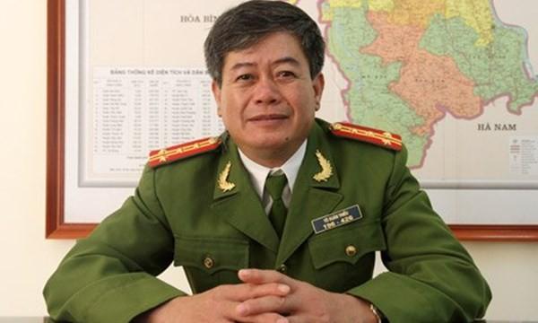 Đại tá Tô Xuân Thiều - PGĐ cảnh sát PCCC TP.Hà Nội (Ảnh: Nguyễn Hưng)