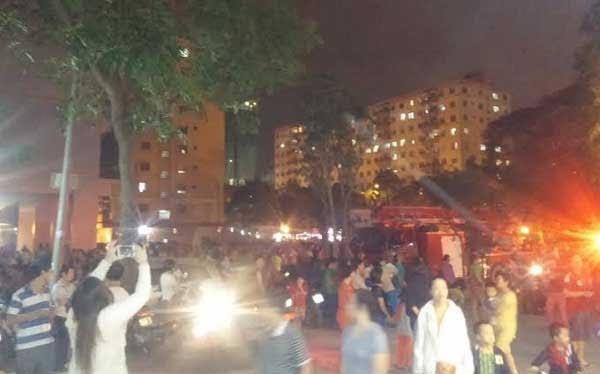 Hà Nội: Dân chung cư Linh Đàm lại náo loạn vì cháy
