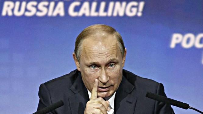Ông Putin chỉ trích Mỹ không chia sẻ thông tin tình báo về Syria - Ảnh: AFP