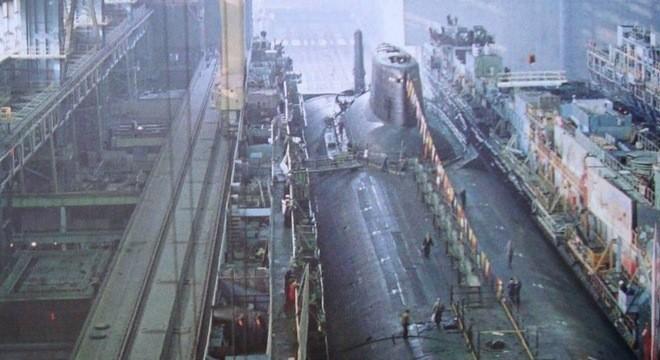 Quá trình đóng tàu ngầm lớn nhất thế giới
