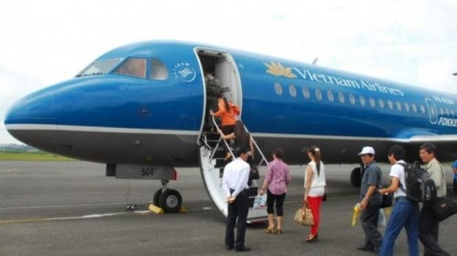 Trang bị vũ khí cho nhân viên an ninh trên máy bay