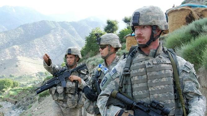 Lính dù Mỹ tại Afghanistan - Ảnh: Lục quân Mỹ