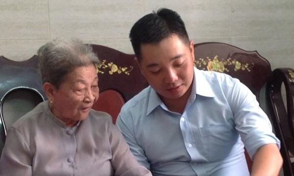 Ông Lê Trương Hải Hiếu, một cán bộ lãnh đạo trẻ độ tuổi 30 của TP.HCM