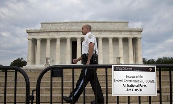 Chính phủ Mỹ từng đóng cửa hồi năm 2013 vì Quốc hội không thông qua ngân sách