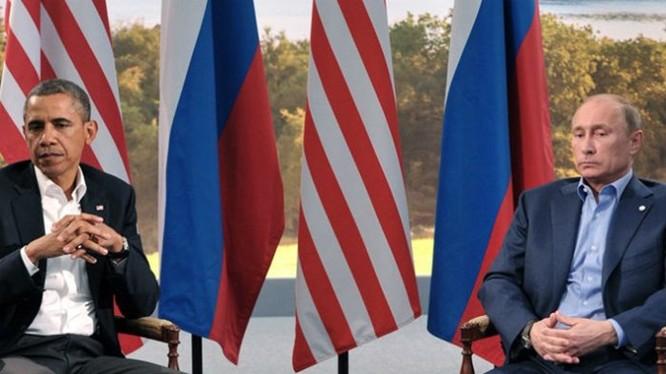 Dù chiến tranh lạnh kết thúc nhưng quan hệ Nga - Mỹ vẫn căng thẳng - Ảnh: AFP