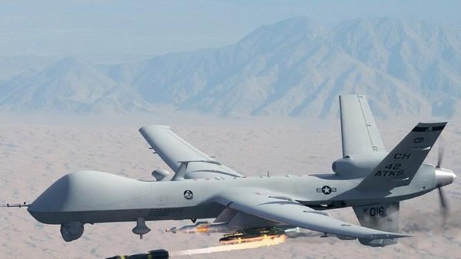 Một máy bay không người lái thuộc dòng MQ-9 Reaper của Mỹ - Ảnh: USAF