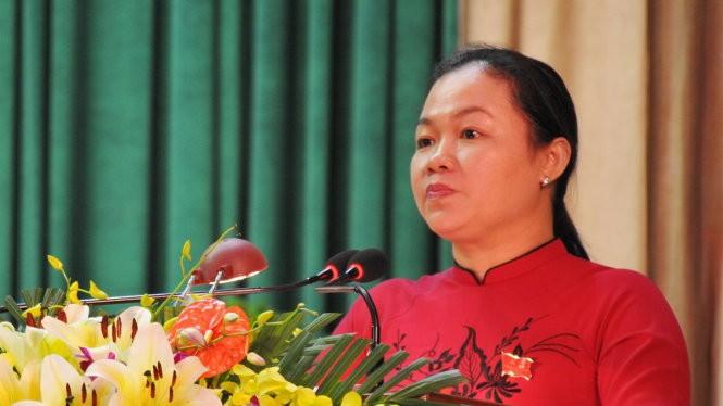 Bà Đào Bảo Minh - Ảnh: Dương Thanh Xuân