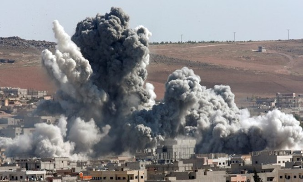 Một vụ không kích của liên quân tại Syria
