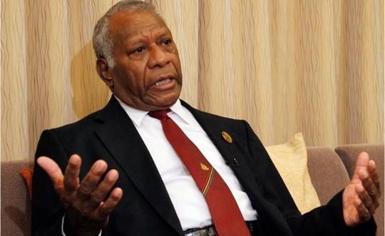 """Tổng thống Vanuatu Baldwin Lonsdale thề sẽ dọn sạch """"rác bẩn"""" trong chính quyền. Ảnh: AP"""