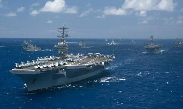 Hạm đội Thái Bình Dương của Mỹ đã sẵn sàng tuần tra sát đảo nhân tạo phi pháp do Trung Quốc xây dựng