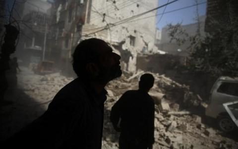 Bất đồng của nhóm bộ tứ Syria về tương lai của ông Assad khiến tình hình tại quốc gia Trung Đông này vẫn hết sức u ám. Ảnh AFP