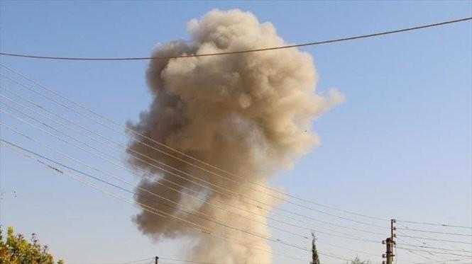Nga đã được chính quyền Iraq cho phép không kích IS trong lãnh thổ nước này - Ảnh: AA