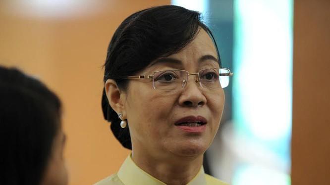 Phó bí thư Thành ủy TP.HCM Nguyễn Thị Quyết Tâm