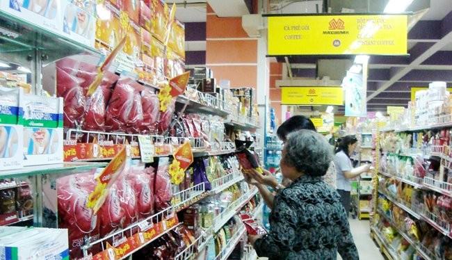 Khách hàng mua sắm tại một siêu thị Maximark - Ảnh minh họa: Minh Tâm
