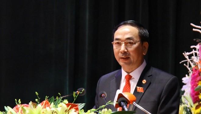 Ông Trần Quốc Tỏ, Bí thư tỉnh ủy Thái Nguyên