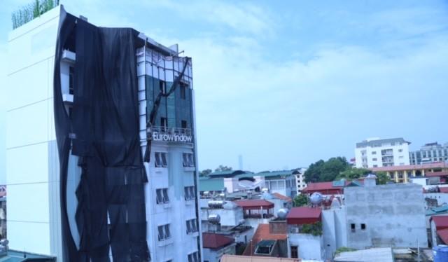 Tòa nhà xây dựng trái phép của ông Nguyễn Hoàng Linh - PGĐ Sở GTVT Hà Nội