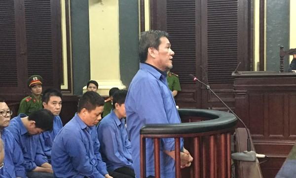 Bị cáo Dương Thanh Cường tại tòa.
