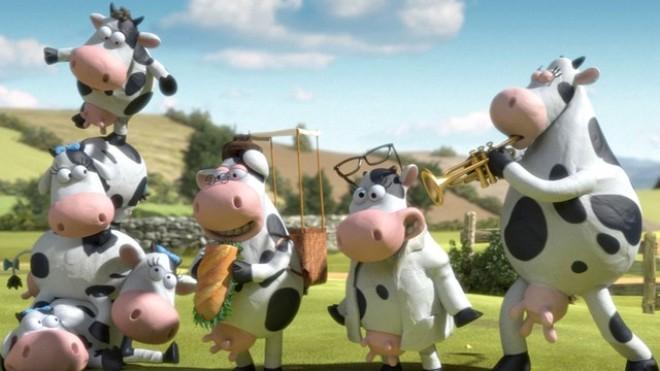 Hình ảnh những chú bò vui nhộn cực kỳ ấn tượng của Vinamilk.