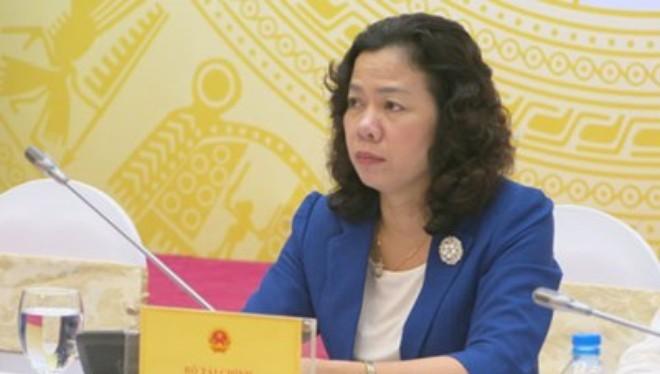 Thứ trưởng Bộ Tài chính Vũ Thị Mai (ảnh V.H)