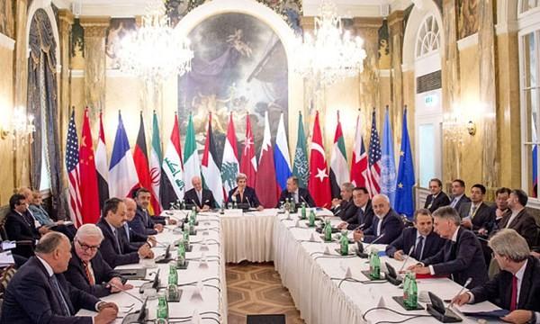 Ngoại trưởng Nga - Mỹ là chủ tọa của phiên đàm phán 17 bên về hòa bình cho Syria
