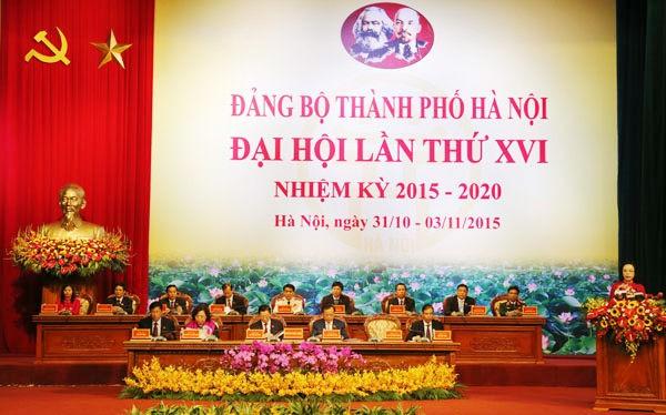 74 ủy viên Ban Chấp hành Đảng bộ Hà Nội khóa XVI gồm những ai ?