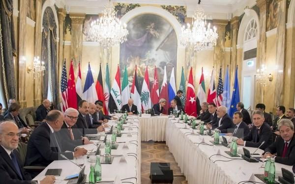 Toàn cảnh Hội nghị quốc tế về Syria. (Nguồn: AFP/TTXVN)