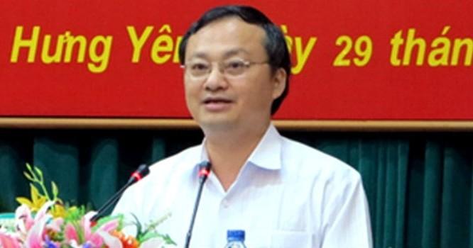 Ông Đỗ Tiến Sỹ, Bí thư Tỉnh ủy Hưng Yên.