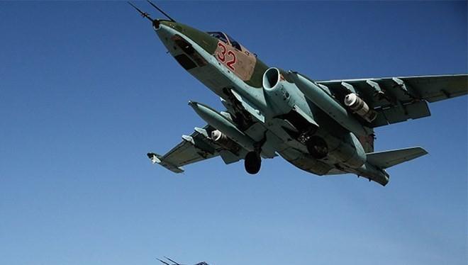 Máy bay chiến đấu Su-25 của Nga. (Nguồn: RIA Novosti)