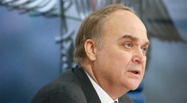 Thứ trưởng Ngoại giao Nga Anatoly Antonov