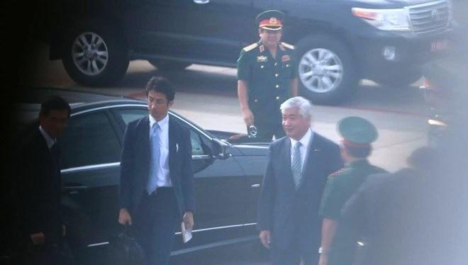 Bộ trưởng Quốc phòng Nhật Bản thăm quân cảng Cam Ranh