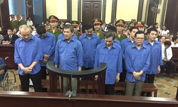 Tuyên án vụ thất thoát 966 tỉ tại Agribank CN6: Án cao nhất là tù chung thân