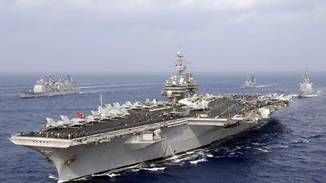 Mỹ muốn tăng tàu sân bay cho hải quân