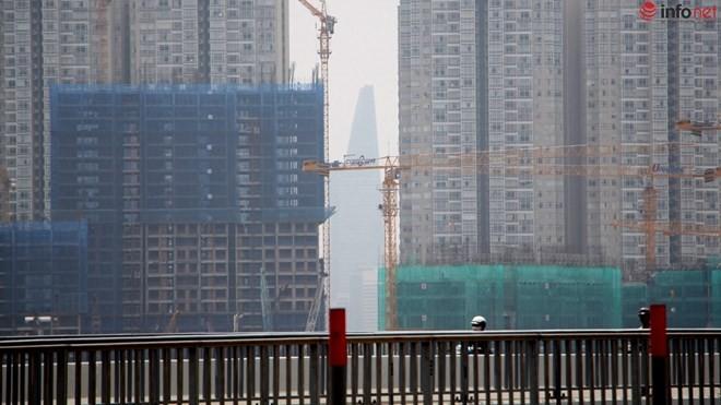 Báo cáo của Sở cho thấy tình hình xây dựng tại TP.HCM đang tăng trưởng tốt.