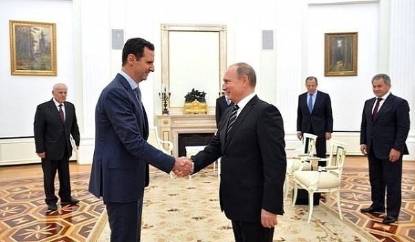 Tổng thống Nga Putin và Tổng thống Syria al-Assad